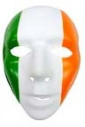 Maschera con bandiera Irlanda