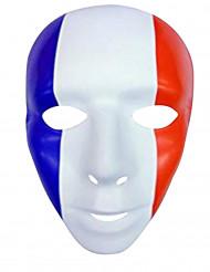 Maschera con bandiera Francia