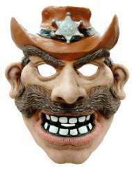 Maschera da cowboy per adulto