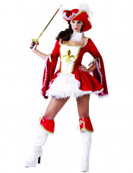 Costume da moschettiere sexy per donna