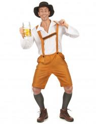 Vestito semplice bavarese da uomo