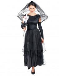 Costume sposa nera da donna
