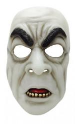 Maschera bianca da vampiro per adulto