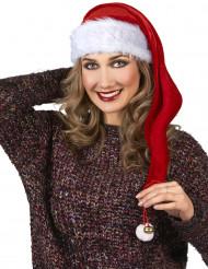 1 cappello rosso e bianco natalizio
