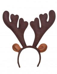 Cerchietto da renna per Natale