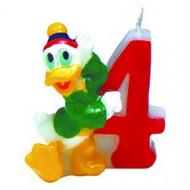 Candelina compleanno numero 4