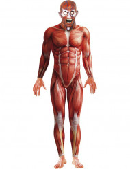 Costume anatomia umana per adulti Halloween