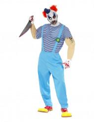 Costume da clown assassino adulti Halloween