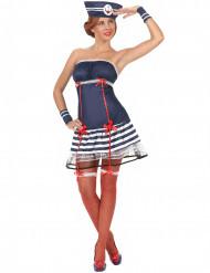 Costume da marinaia sexy per donna adulta