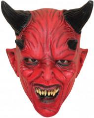 Maschera da diavolo rosso per adulti