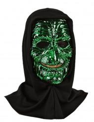 Maschera da mostro verde per adulto