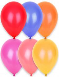 24 palloncini colorati 25 cm