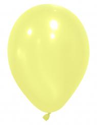 12 palloncini da 28 cm giallo chiaro
