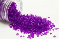 Sassolini di vetro color prugna  400 grammi