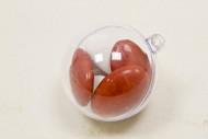 6 piccole sfere trasparenti