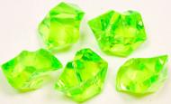 Pietre effetto cristallo di colore verde