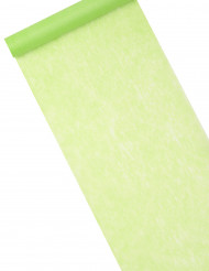 Runner da tavola color verde menta 10m