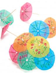 10 stuzzicadenti con ombrelli