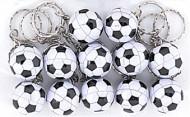 12 portachiavi pallone da calcio