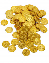 144 monete in finto oro