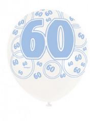 Palloncini blu per 60 anni