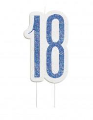 Candelina 18 anni blu