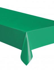 Tovaglia rettangolare di plastica verde