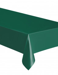 Tovaglia rettangolare verde in plastica