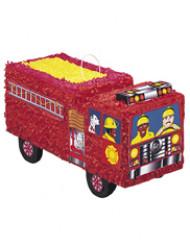 Pentolaccia a forma di camion dei pompieri