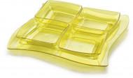 Contenitore aperitivo giallo