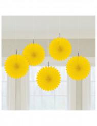 Addobbi per soffitto gialli