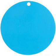 10 segnaposto in cartoncino di colore turchese
