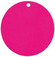 10 segnaposto in cartoncino di colore fucsia
