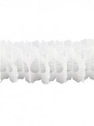 Ghirlanda bianca in carta 15 cm x 4 m