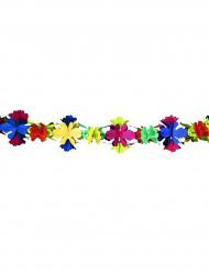 Ghirlanda di 4 metri fatta con carta a fiori