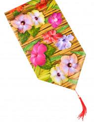 Runner da tavola con fiori hawaii