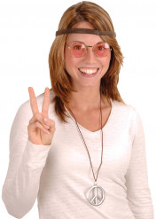Kit da Hippie per adulto