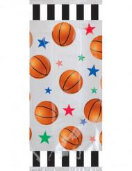 20 sacchetti per caramelle con stampe in tema basketball