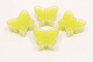 4 candele scalda vivande forma di farfalle