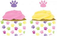12 pirottini di carta con gattini