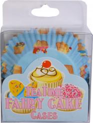 Lotto di 60 di cestini di carta per cupcake