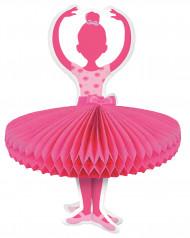 Centrotavola in cartoncino Danzatrice Ballerina