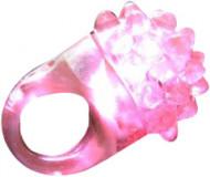 Anello magico con led di colore rosa