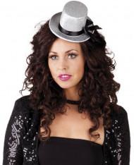 Mini cappello in grigio per donna