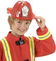 Casco da Pompiere di colore rosso