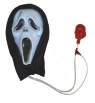Maschera Halloween colore bianco