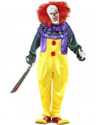 Costume clown terrificante adulto