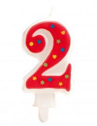 Candela compleanno numero 2