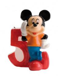 Candela per il 5 compleanno di Mickey Mouse