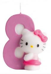 Candelina numero 8 Hello Kitty™